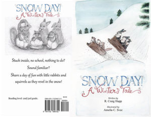 Snow Day Front and Back Cover